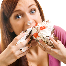 mindful eating - not
