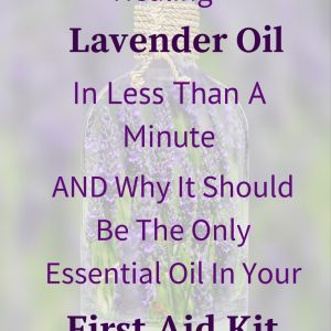 How to make this essential oil and why you need it